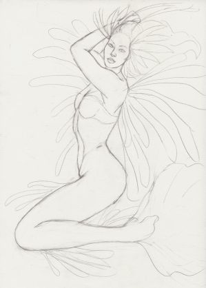 Mermaid sketch