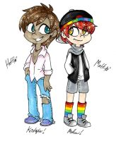 Heff and Matt by AskHeffer