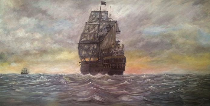Legend of the Black Pearl by Pictaview