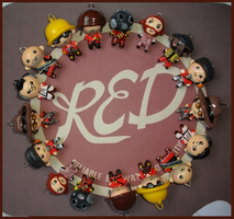 Chibi-Charms: TF2 REDs by MandyPandaa