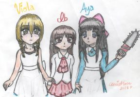 The Horror Loli Trio by cleris4ever