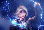 Elsa the Warrior by ryky