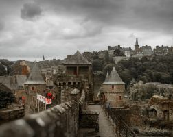 Fougeres panorama by AlexGutkin