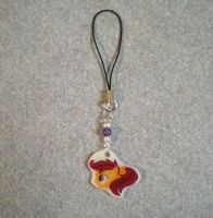 My Little Pony Handmade Scootaloo Cellphone Charm by AmyAnnie14