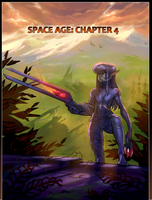 Space age: Chapter 4 cover by blackmyst