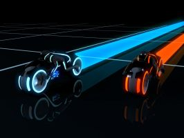 Tron Legacy Light Cycles by PForbes88