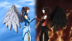 Good and Evil by leamatte