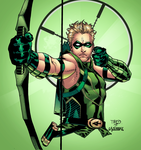 Green Arrow by LazerBat