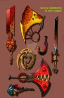 Shattered Fantasy Weapons by Vaxillus