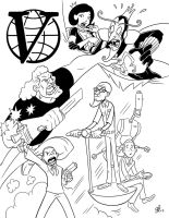 The Venture Bros Poster. by scootah91
