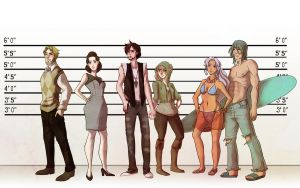 AG: Lineup by RoroZoro