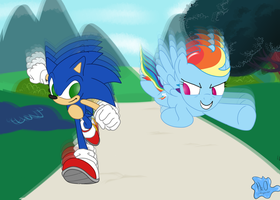 Gotta DASH!!! by h20dragonrider
