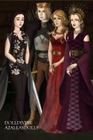 Game of Thrones Eric Northman and brides by Childoftheflower