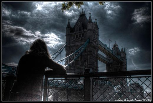 london - watching the legend by haq