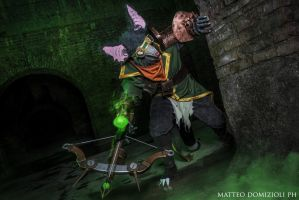 I'll be right under their noses - Twitch Cosplay by Hayato-X-Flame