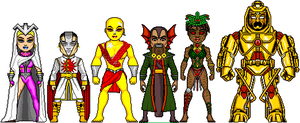 New Amalgam: The Ancient Six by Red-Rum-18