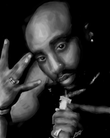 Tupac by Quezzi