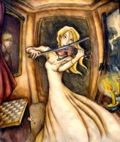 White Queen plays by Oruba