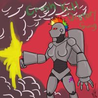 30monters Robot Girl by Dragon-Storm