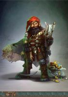 The Wicked Dwarf by yanzi-5