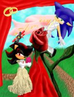 .:Sonadow:. Wedding day' by ChibiSonikku