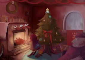 League of Legends - Christmas by Foliummori
