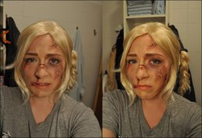 Beat up Jess - Until Dawn by Raikk0