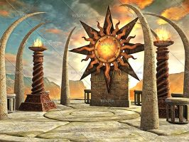 Temple of the Sun by Trisste-stocks