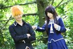 Fruits Basket #1: Tohru and Kyo - Right Straight! by AilesNoir