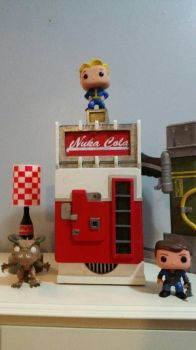 Nuka-Cola Machine by thebluecanary