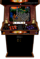 DR WHO  GAME arcade machine by DEAD-RECONING