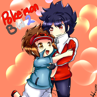 BW2 Hyuu and Kyouhei by kawaiipanda-aru