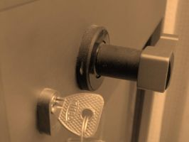 handle with key by cekcek