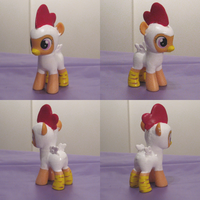 Chicken Scootaloo by Amandkyo-Su