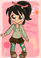 Vanellope finished :D by kittenlover101