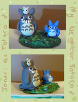 Clay Tonari no Totoro by averyanime