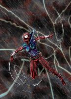 Scarlet Spider FIN by albiemo