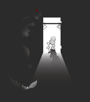 Original -- Monster in the Closet by Creepy99