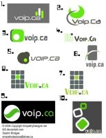 voip.ca Logo Types by Lili2