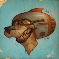 HeadGear Pup by blitzcadet