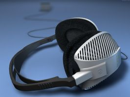 3D - Headphones by bra1n
