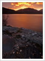 Sunset over Loch Lomond by DL-Photography