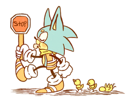 Crossing guard by Dog22322