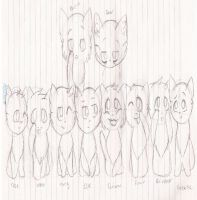 The Herd {Never to be finished} by NinjaMuffins1998