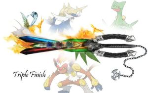 Triple Finish by OnyxChaos