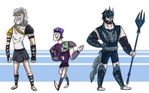 Greek Myth - Character Line-Up