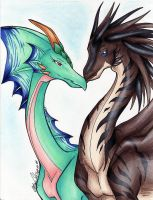 Amour de Dragons by ManueC