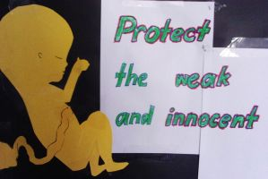 Pro-Life Poster by brunonade
