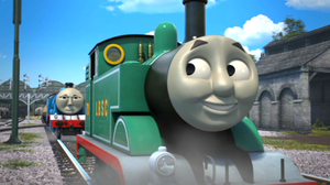 Thomas in his teal lively by Robbie18