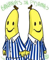 holy-its Bananas in Pyjamas by 3cHarAluVr3